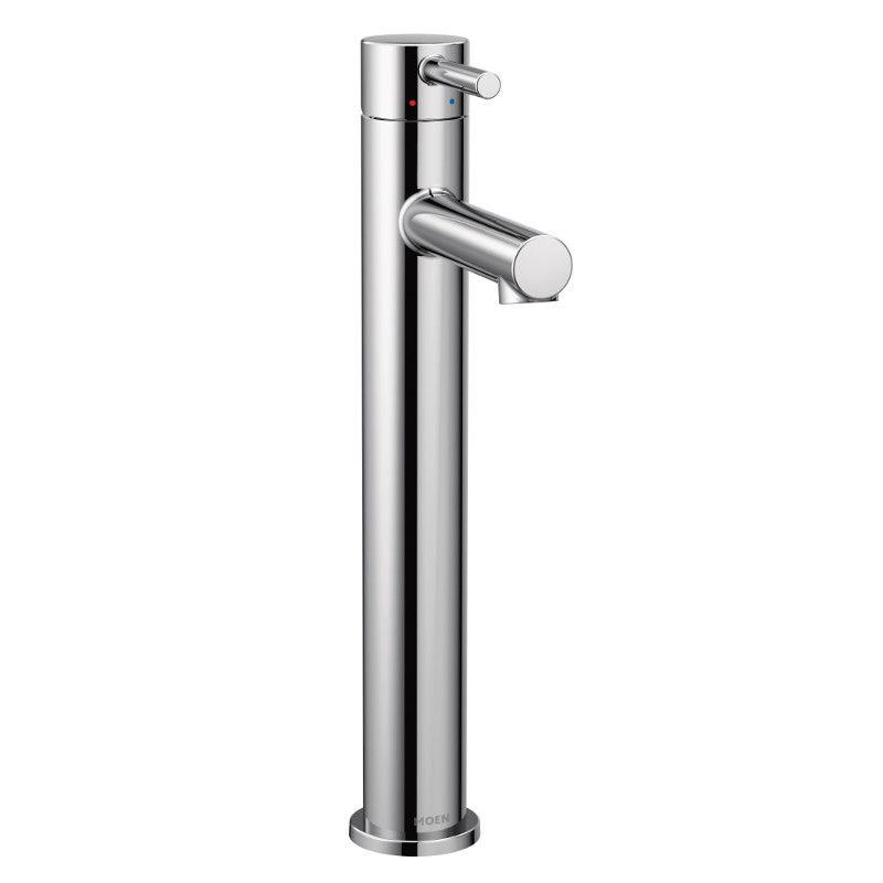 Moen Align Single Hole Single-Handle High Arc Bathroom Faucet with Lever Handle in Chrome