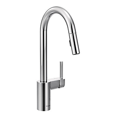 moen fascinating luxury faucet steel arbor awesome stainless nickel pull blog spray of down faucets with kitchen all prepare lovely