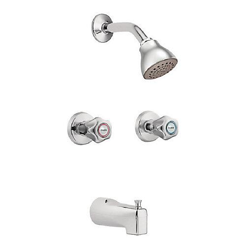 II Kit de garniture de baignoire et de douche (valve vendue séparément)