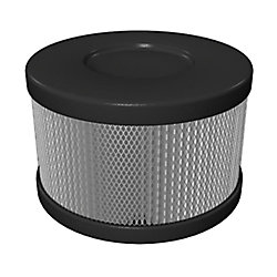 Roomaid by Amaircare Roomaid Snap On Cartridge Replacement HEPA Filter for Air Purifiers in Black/Slate