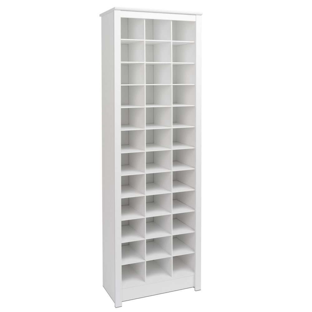 Charming 24 Inch X 73 Inch X 13 Inch Space Saving Shoe Storage