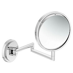 Arris 9-inch L x 6-inch W Magnifying Wall Makeup Mirror