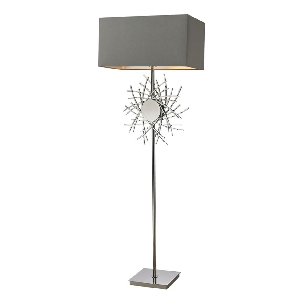 Hampton Bay Adjustable Height Arc Lamp The Home Depot Canada