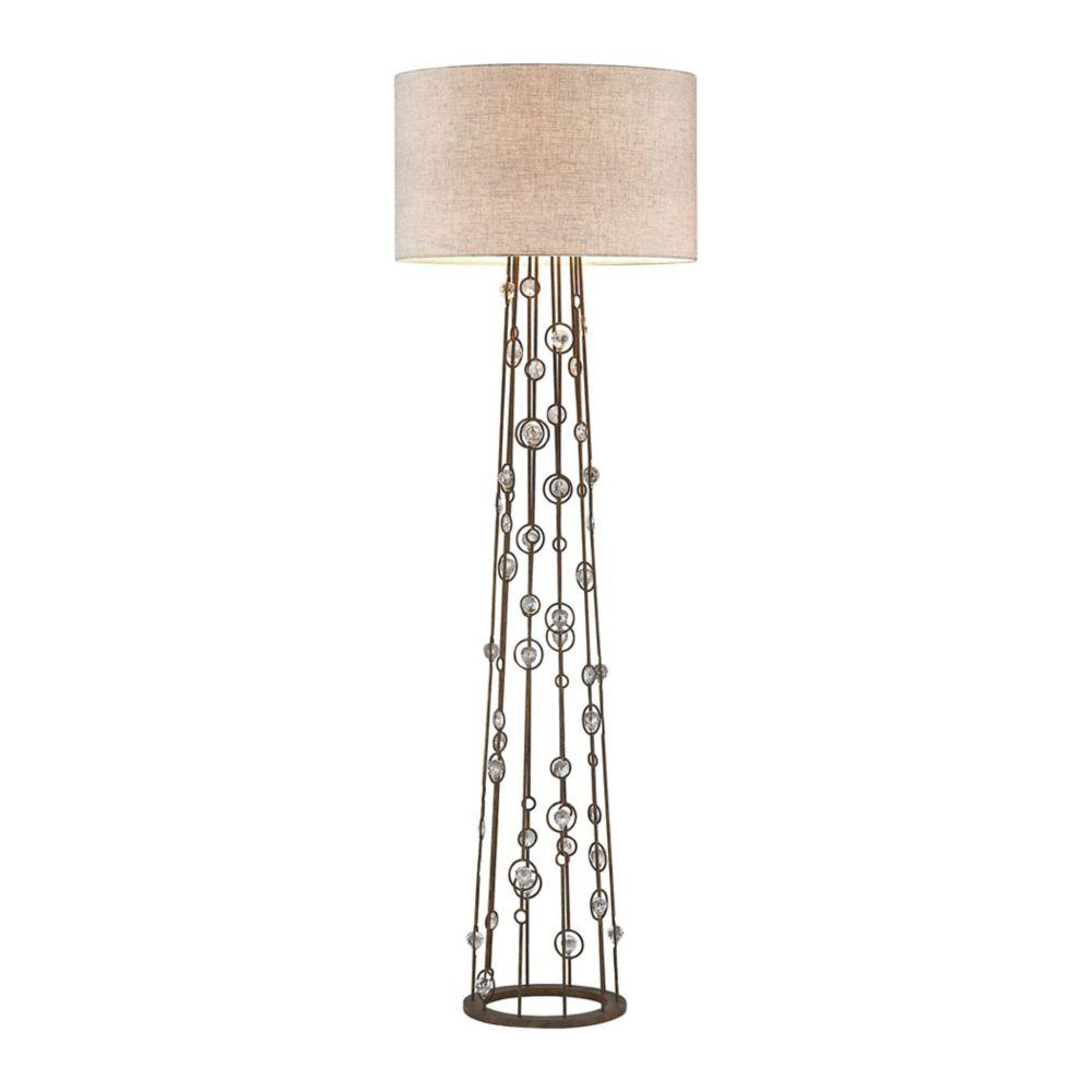 hampton bay torchiere style m  d floor lamp