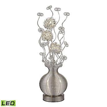 Titan Lighting Lampe à pied contemporaine Lazelle de 51 po avec ...