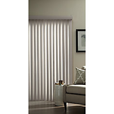 3.5-inch Vertical Blind Louvers Pearl Grey 84-inch Height