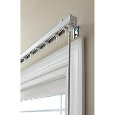 3.5-inch Vertical Blind Headrail White 78-inch Width