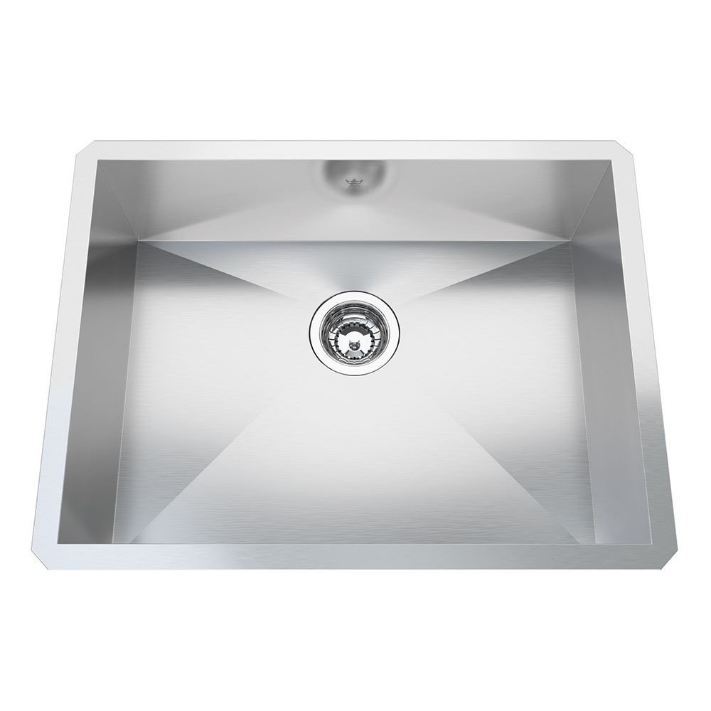 Kindred Qsfs31b 20 Gauge Apron Front Farmhouse Stainless: Kindred Single Bowl Sinks