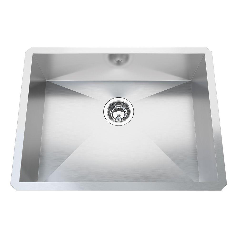 Kindred 20 Ga HandFab UM Single Sink