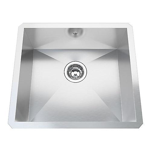 20 Ga HandFab UM Single Sink