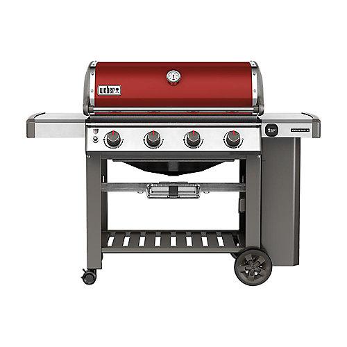 Genesis II E-410 Propane BBQ in Crimson