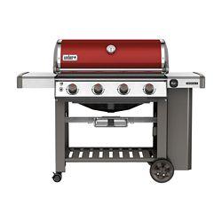 Weber Barbecue au gaz à 4 brûleurs avec brûleur latéral, noir