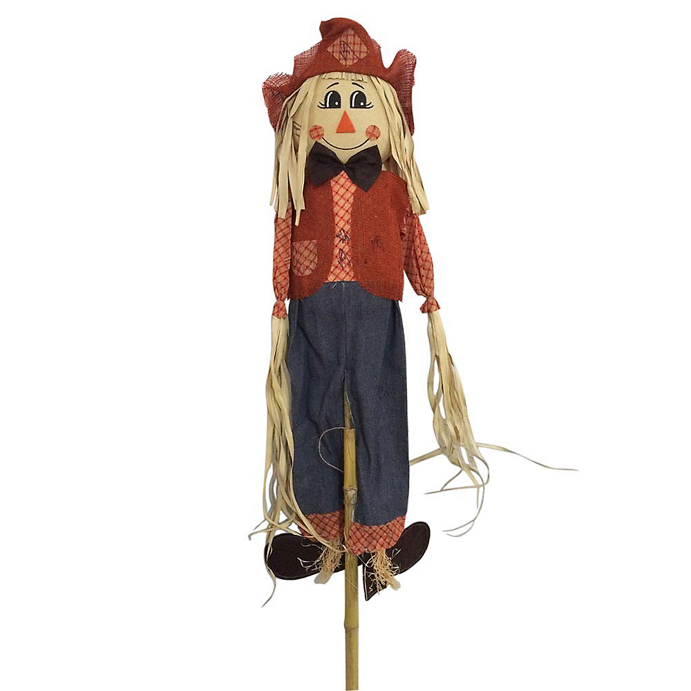 6 ft. Standing Scarecrow Halloween Decoration