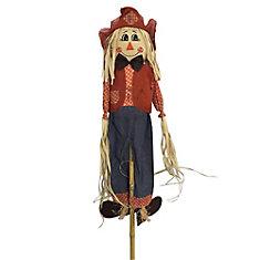 6 ft. Standing Scarecrow Halloween Decoration