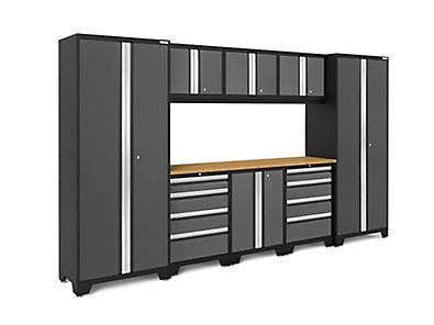 garage cabinets from fulll row image width collections block com sets newage shop storage cabinet