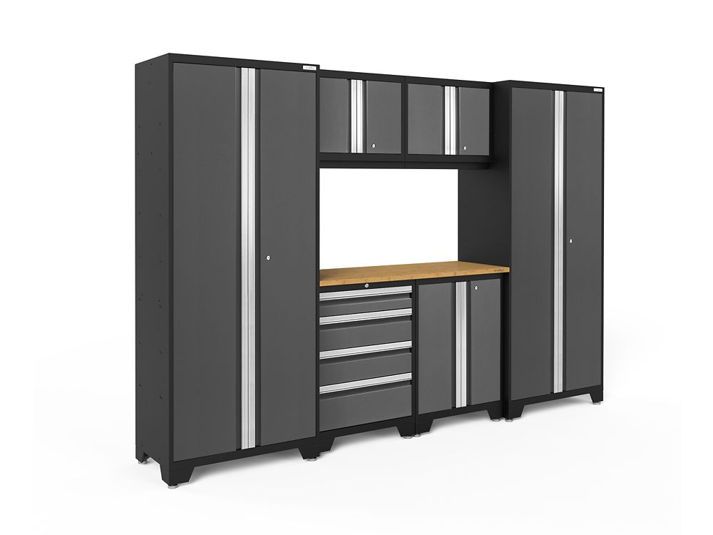 armoires de garage home depot canada. Black Bedroom Furniture Sets. Home Design Ideas