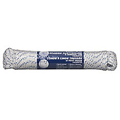 Braided Polyester Rope 1/4 Inch x 150 Feet
