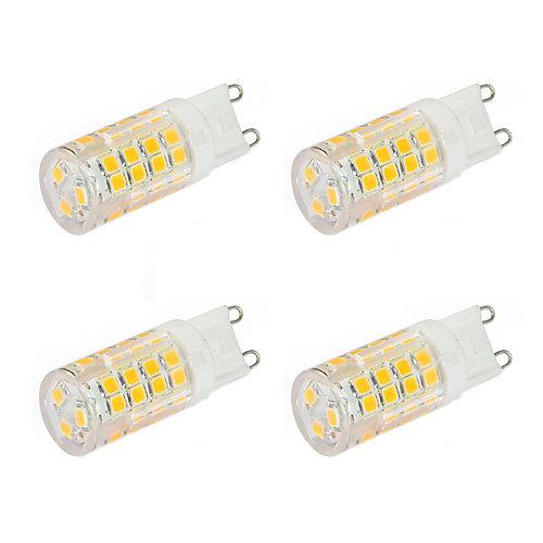 Strak LED G9 LED 4W= 40W 400LM 3000K CRI80 Dimmable - 4PK | The ...
