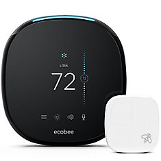 Smart Wi-Fi Thermostat with Room Sensor and Alexa Voice Service - ENERGY STAR ®