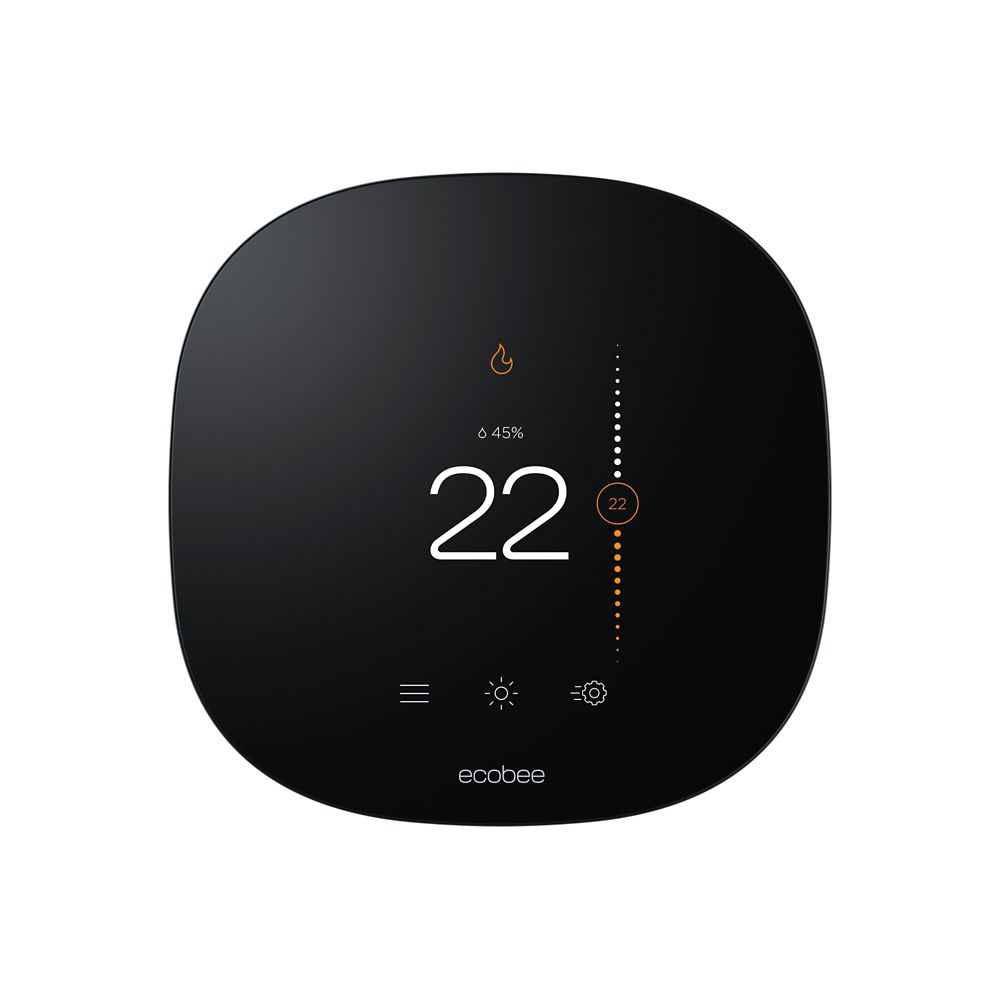 ecobee Ecobee3 Lite WI-FI Programmable Thermostat with Smart Home Integration - ENERGY STAR®