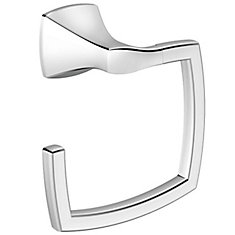 Voss Towel Ring in Chrome