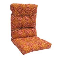 Bozanto Inc. Highback Cushion for Patio Conversation Chair in Brown