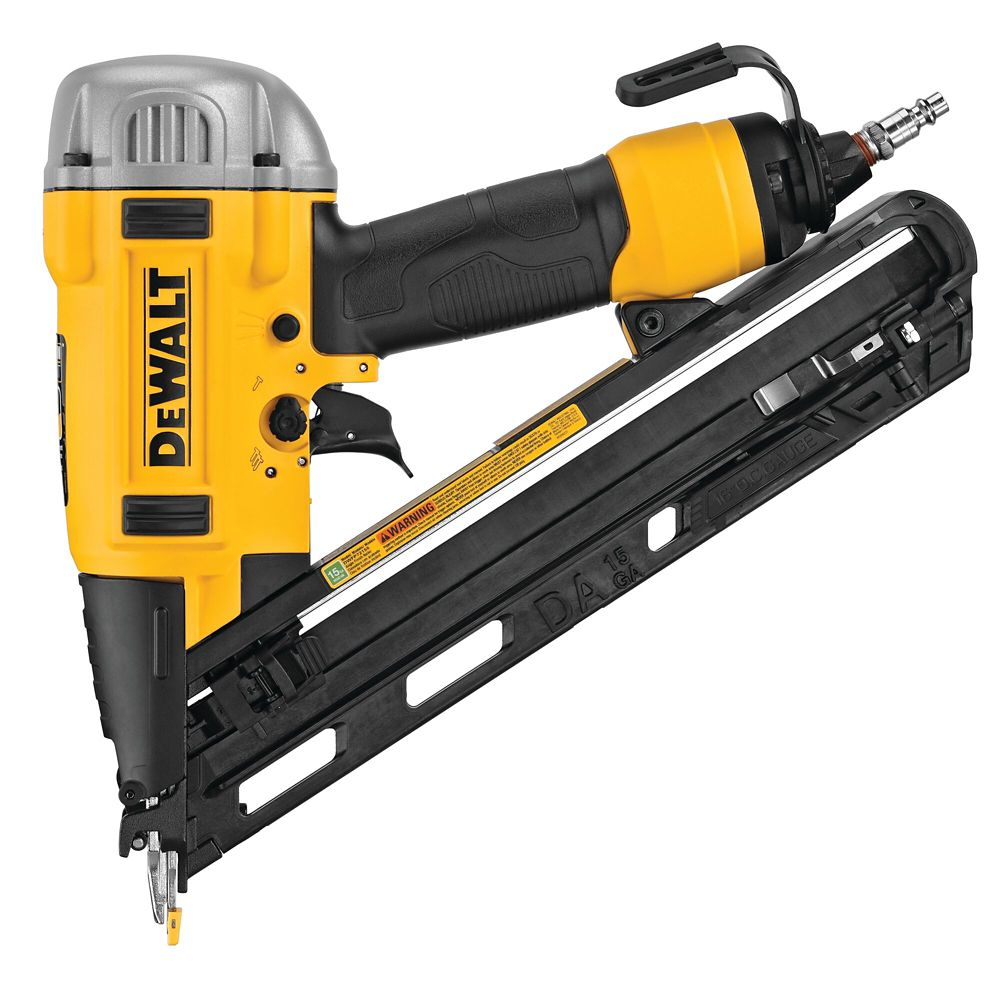DEWALT 15-Gauge Pneumatic Finish Nailer