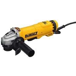 DEWALT 4.5-inch Small Angle Paddle Switch Angle Grinder with Brake and No-Lock On