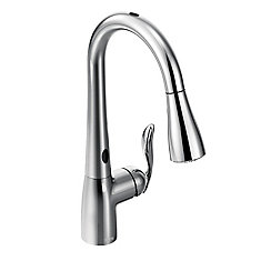 Arbor Single-Handle Pull-Down Sprayer Touchless Kitchen Faucet With Motionsense In Chrome