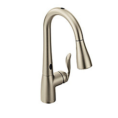 Moen Arbor With Motionsense One Handle Pulldown Kitchen Faucet In