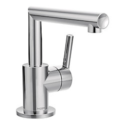 Arris Single Hole Single-Handle Bathroom Faucet with Lever Handle in Chrome