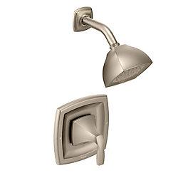 Voss Posi-Temp Single-Handle Shower Faucet Trim Kit In Brushed Nickel (Valve Sold Separately)