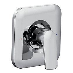 MOEN Rizon Posi-Temp Douche de douche de pluie Rizon Posi-Temp Kit de garniture de robinet seulement en chrome (robinet vendu séparément)