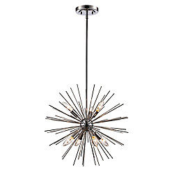 Bel Air Lighting Suspension étoile métallique de 51 cm (20 po)