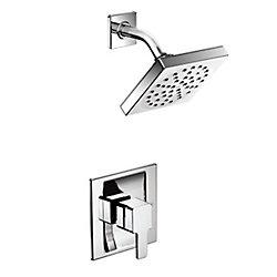 90-Degree trol Shower Trim Kit In Chrome (Valve Sold Separately)