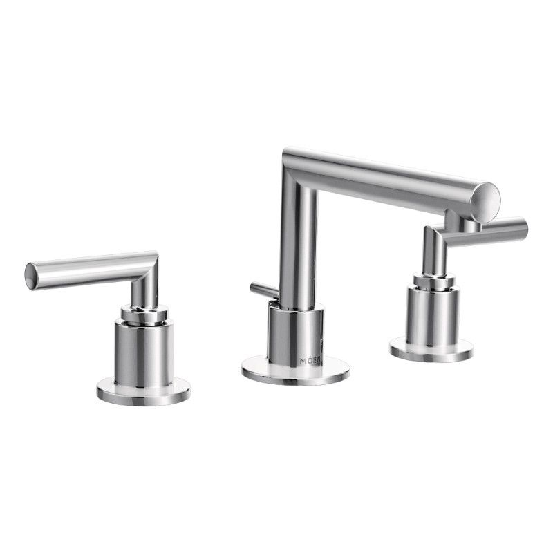 Moen Arris 8-Inch Widespread 2-Handle High Arc Bathroom Faucet with Lever Handles in Chrome
