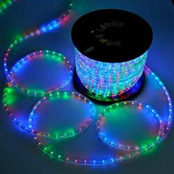Strak LED LED 110V Dimmable Strip Lighting KIT 18FT/5 Meter ROLL with powerfeed , and pins and mounting clips