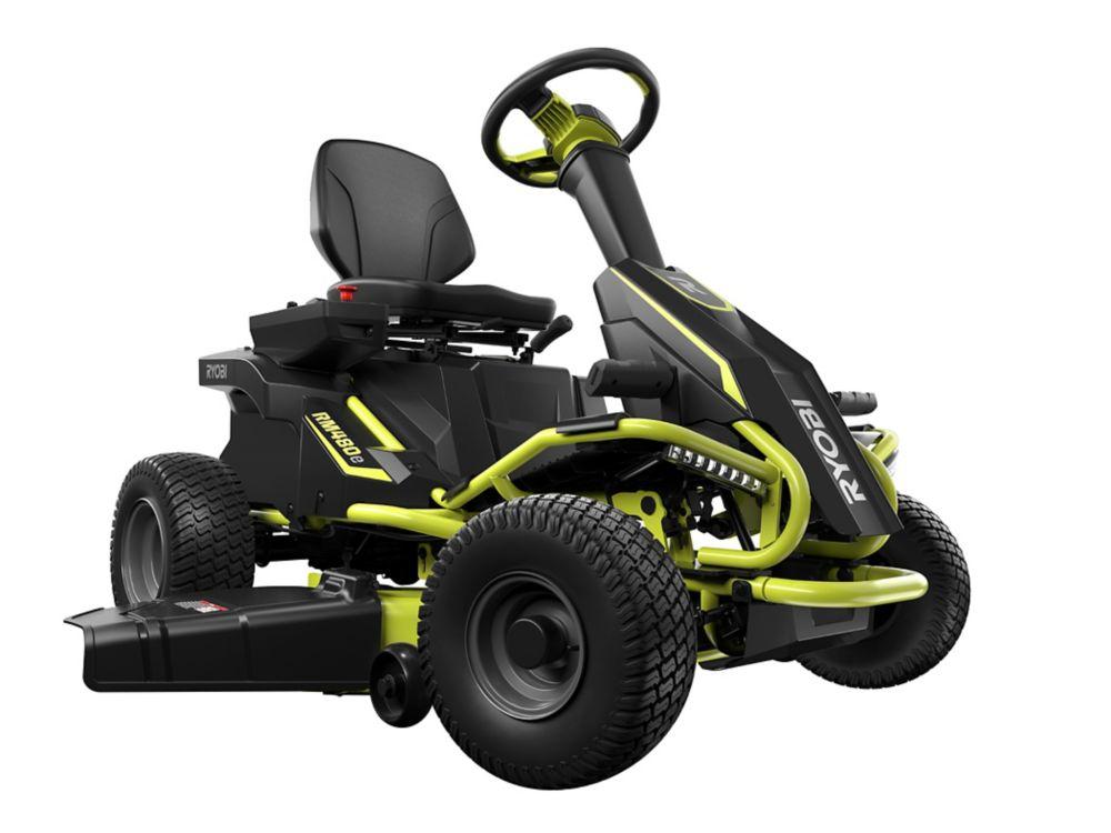 RYOBI 38-inch 48V Electric Riding Lawn Mower