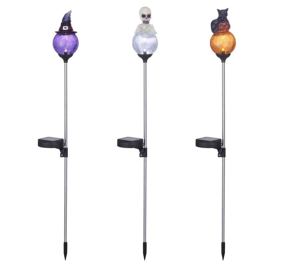 Home Accents Halloween Solar-Lit Outdoor Halloween Decoration