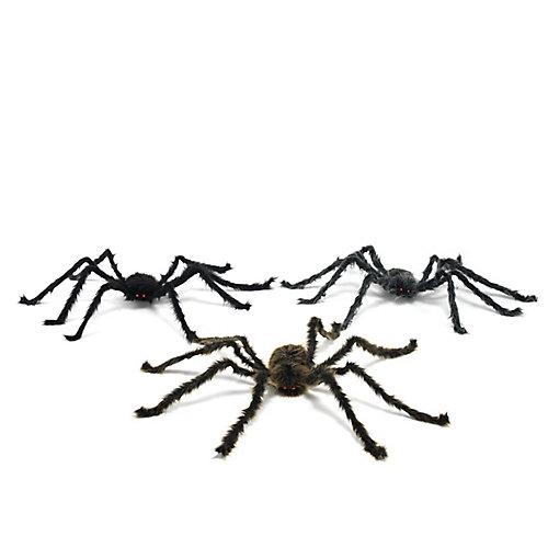Plush Spider Halloween Decoration (Assorted Styles)