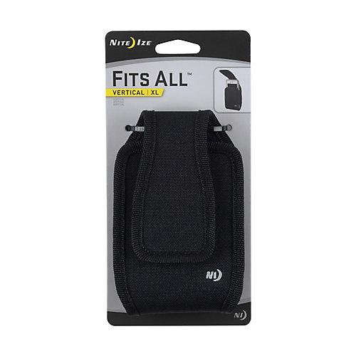 Fits All Vertical Phone Case XL Black