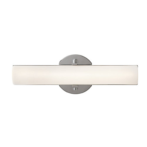 1 light integrated led vanity fixture