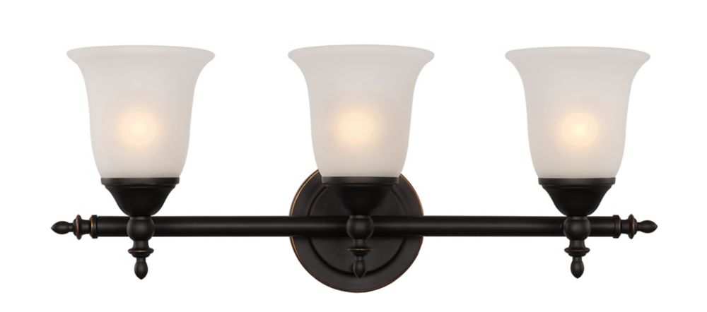 2- Light Oil Rubbed Bronze Vanity Light