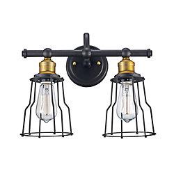 Bel Air Lighting 2-Light Oil Rubbed Bronze Vanity Light