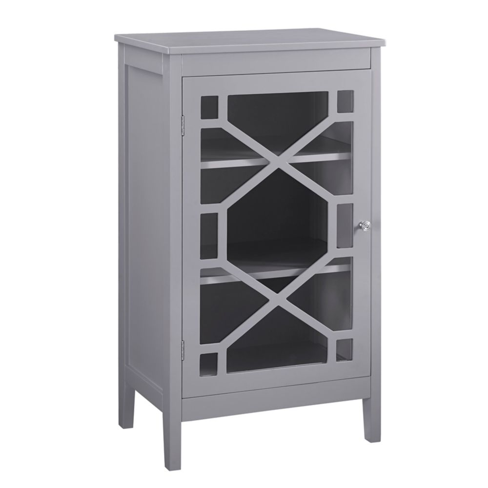 South Shore Morgan Collection Storage Cabinet Royal Cherry | The ...