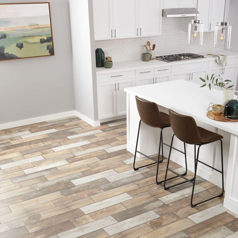 Marazzi Montagna Wood Vintage Chic 6-inch x 24-inch Porcelain Floor and Wall Tile (14.53 sq. ft. / case)