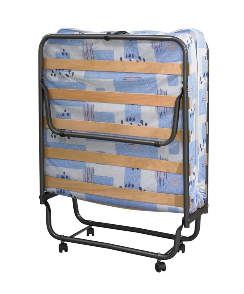 Linon Home Décor Wood Slat Folding Bed