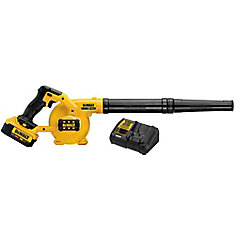 20V MAX 217 KM/H Lithium-Ion Cordless Blower Kit with Battery and Charger