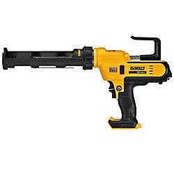 DEWALT Pistolet à colle sans fil 20V MAX Lithium-Ion sans fil 300 ml (outil seulement)