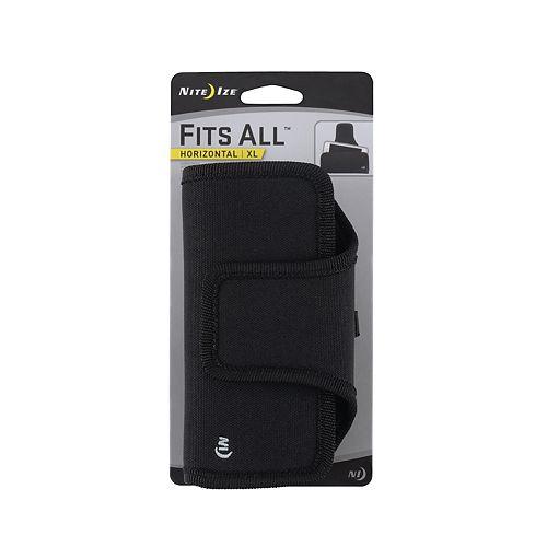 Nite Ize Convient à toutes les coques de téléphone horizontales - TG - Noir